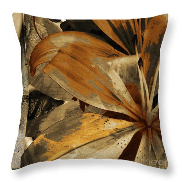 Awed Iv Throw Pillow by Yanni Theodorou