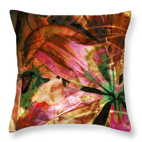 Awed Throw Pillow by Yanni Theodorou