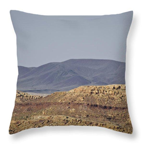 Az Landscape - Near Grand Canyon Throw Pillow by David Gordon