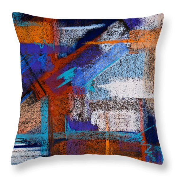 Patterned After Me Throw Pillow by Tracy L Teeter