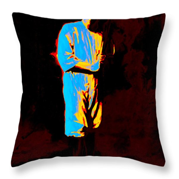Babe 20130213 Throw Pillow by Wingsdomain Art and Photography