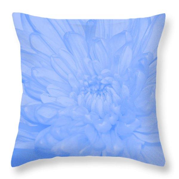 Baby Blue 3 Throw Pillow by Carol Lynch
