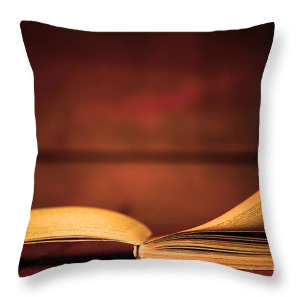 Back To School Throw Pillow by Michal Bednarek