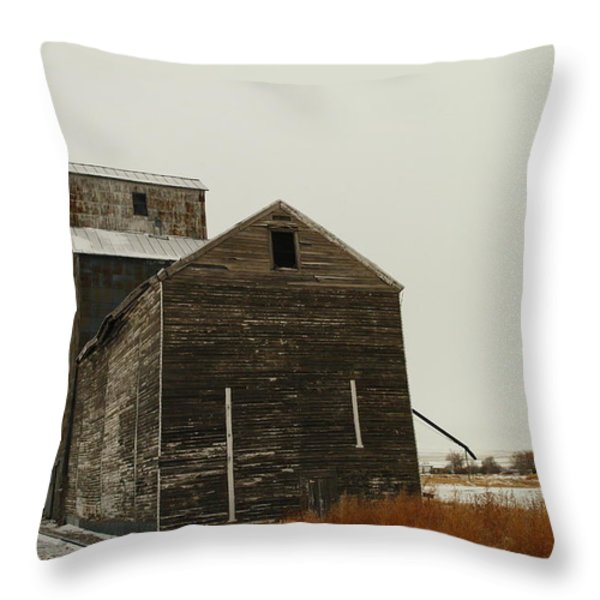 BAINVILLE MONTANA Throw Pillow by Jeff  Swan