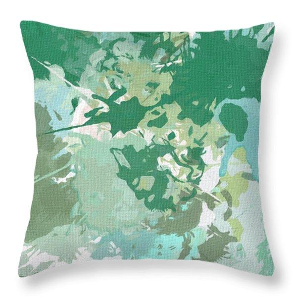 Balance Throw Pillow by Lourry Legarde
