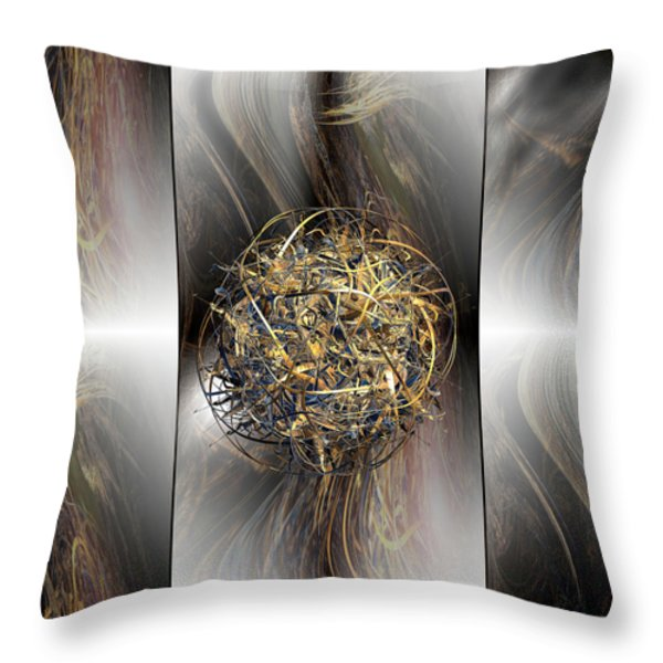 Balance Throw Pillow by Michael Durst