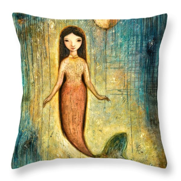 Balance Throw Pillow by Shijun Munns