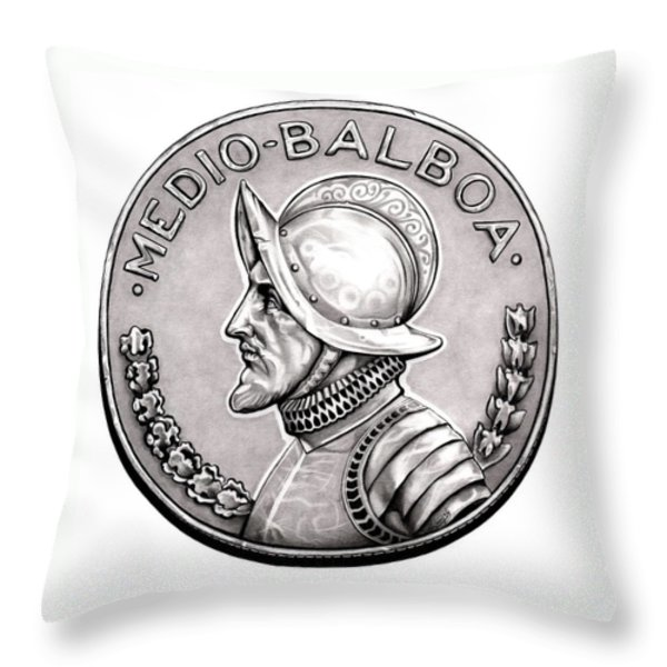 Balboa Throw Pillow by Fred Larucci