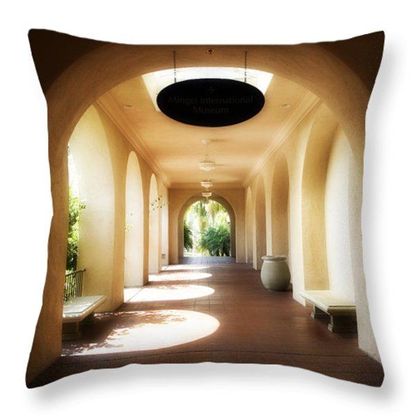 Balboa Park  Throw Pillow by Hugh Smith