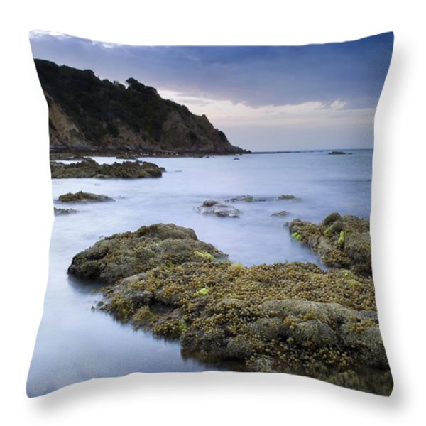 Balcombe Point Mount Martha Throw Pillow by Tim Hester