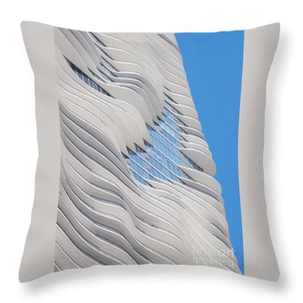 Balconies Throw Pillow by Ann Horn