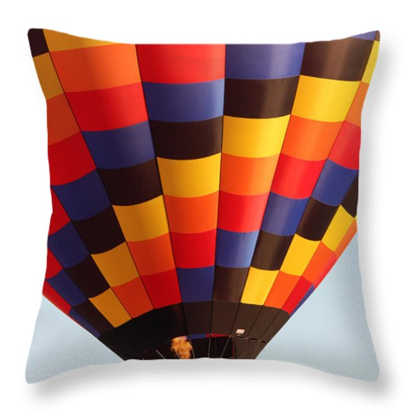 Balloon-color-7277 Throw Pillow by Gary Gingrich Galleries