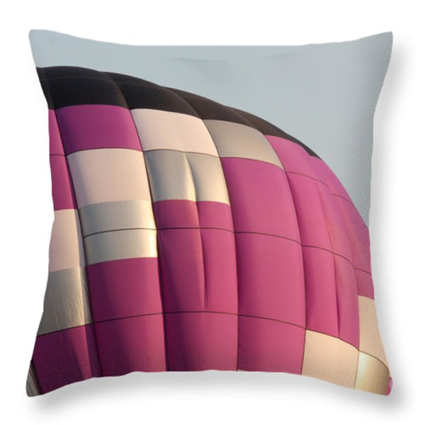 Balloon-purple-7457 Throw Pillow by Gary Gingrich Galleries