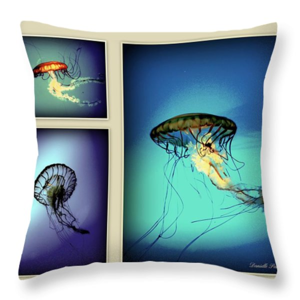 Baltimore Belles Throw Pillow by Danielle  Parent