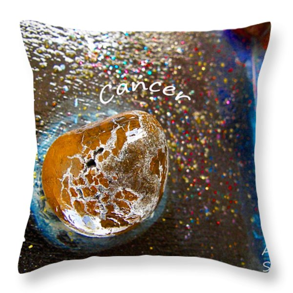 Barack Obama Mercury Throw Pillow by Augusta Stylianou