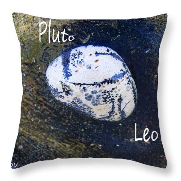 Barack Obama Pluto Throw Pillow by Augusta Stylianou