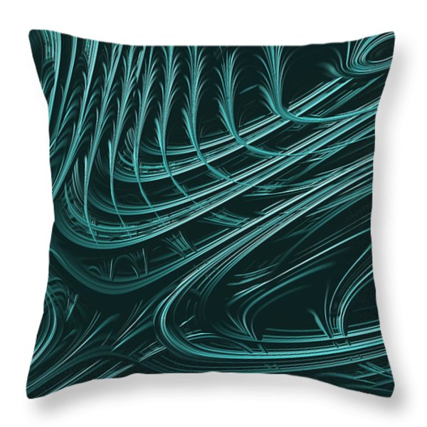 Barbed Throw Pillow by John Edwards