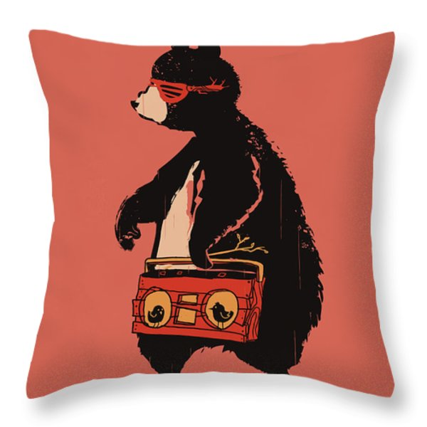 Bare necessity Throw Pillow by Budi Satria Kwan