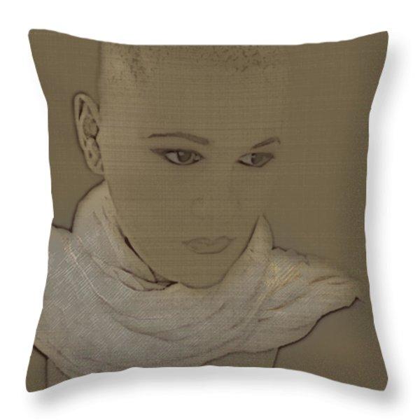 Bared Throw Pillow by Lisa Knechtel