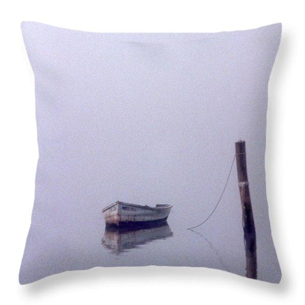 Bateau Throw Pillow by Skip Willits