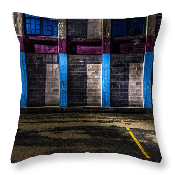 Bates Mill  Morning Light Throw Pillow by Bob Orsillo