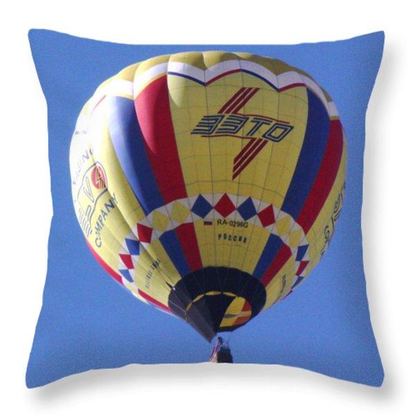 Battle Creek Bonus Throw Pillow by Bill Woodstock