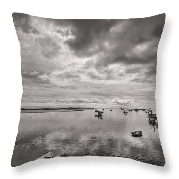 Bay Area Boats Throw Pillow by Jon Glaser