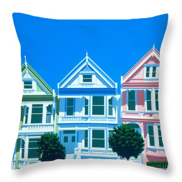 Bay View Throw Pillow by Brian James