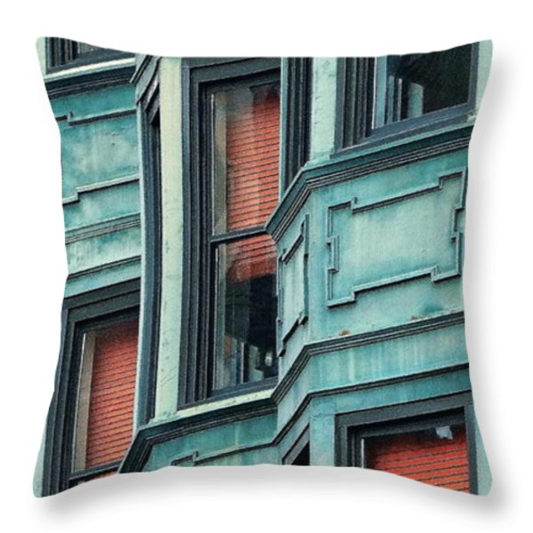 Bay Watch Throw Pillow by Ira Shander