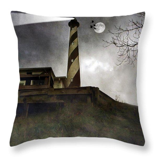 Beacon  Throw Pillow by Brian Wallace