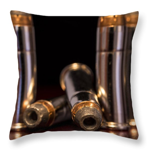 Beat The Odds Throw Pillow by Andrew Pacheco