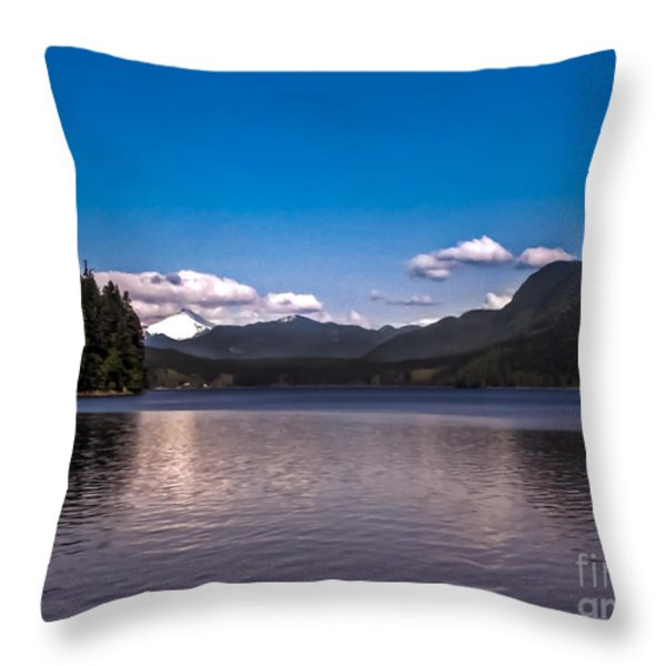 Beautiful BC Throw Pillow by Robert Bales