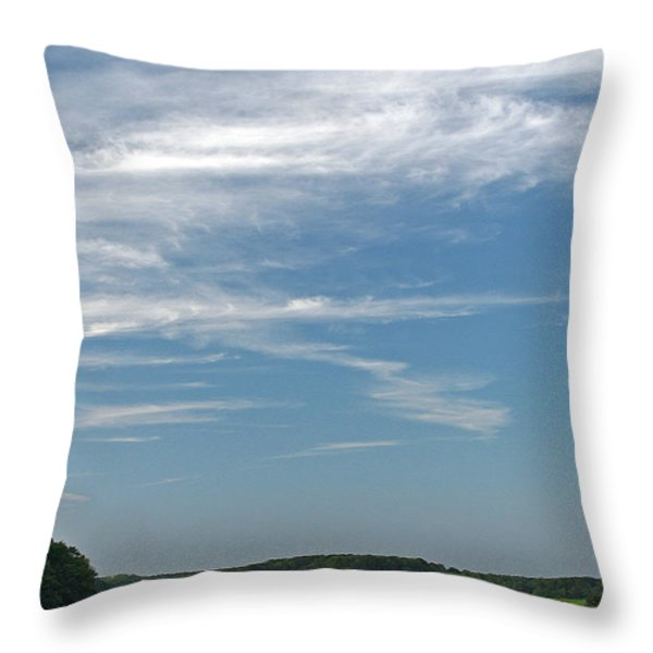 Beautiful Idyllic Cape Cod Throw Pillow by Juergen Roth