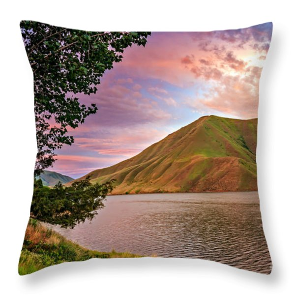 Beautiful Sunrise Throw Pillow by Robert Bales