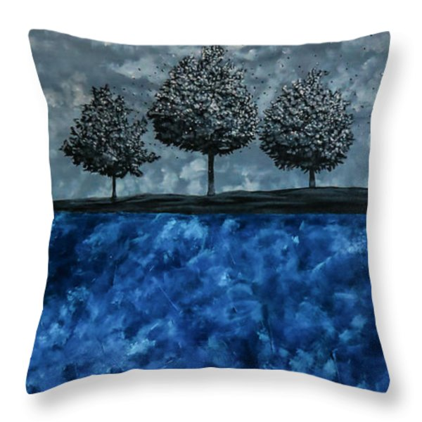 Beauty In The Breakdown Throw Pillow by Joel Tesch