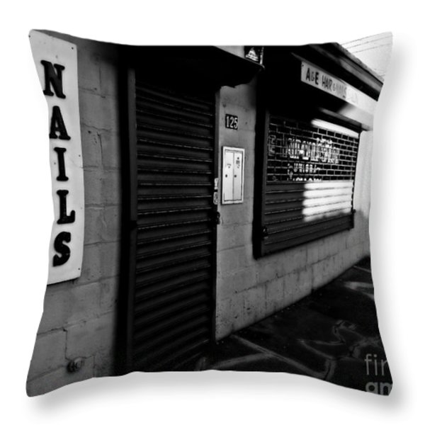 Beauty Is In The Eye Of The Beholder Throw Pillow by James Aiken