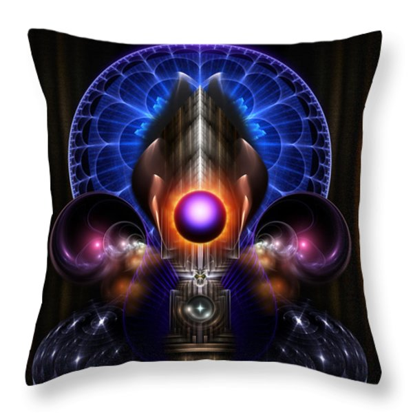 Beauty Of Tinious Throw Pillow by Rolando Burbon