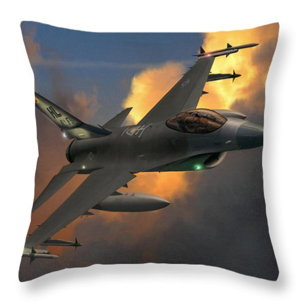 Beauty Pass Throw Pillow by Dale Jackson