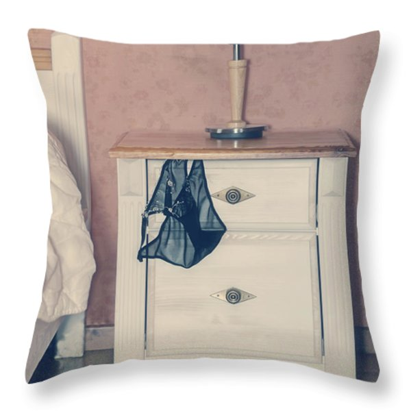 bedroom Throw Pillow by Joana Kruse