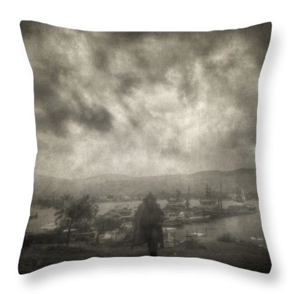 Before Storm Throw Pillow by Taylan Soyturk