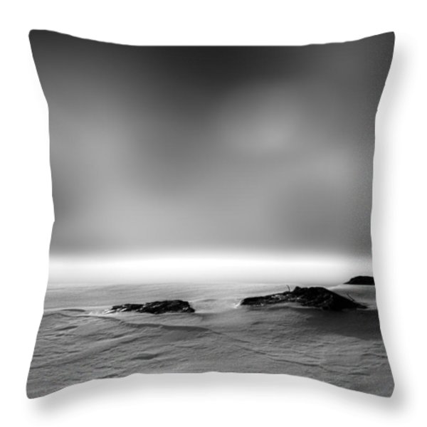 Before Sunrise Throw Pillow by Bob Orsillo
