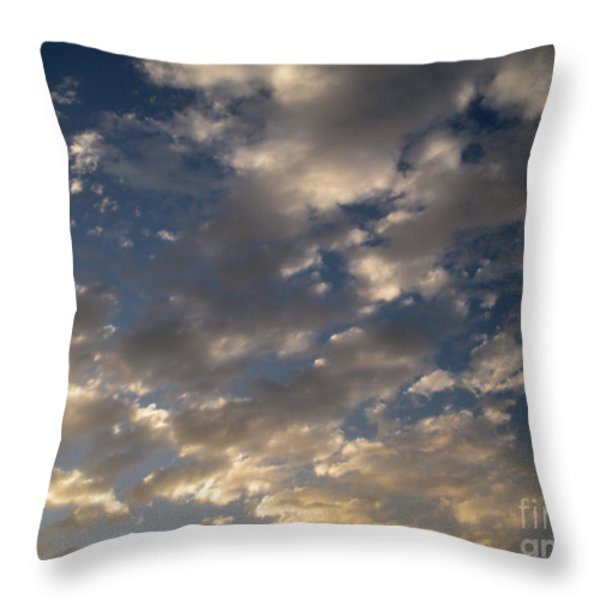 Before The Rain Throw Pillow by Joseph Baril
