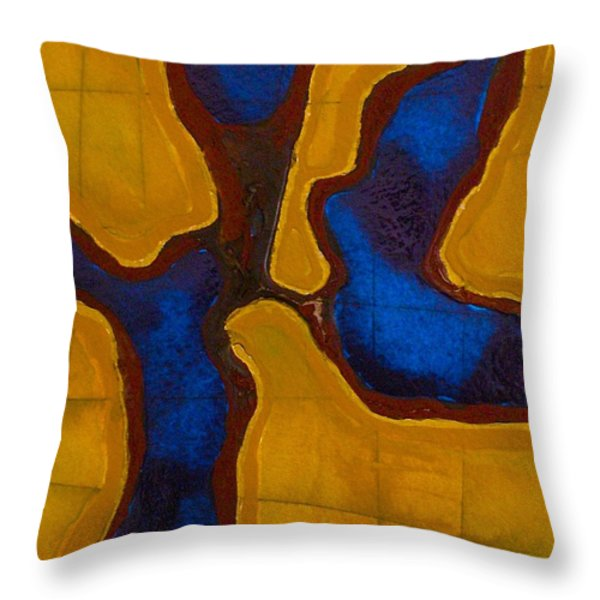 Before The Wind Throw Pillow by Sandra Gail Teichmann-Hillesheim