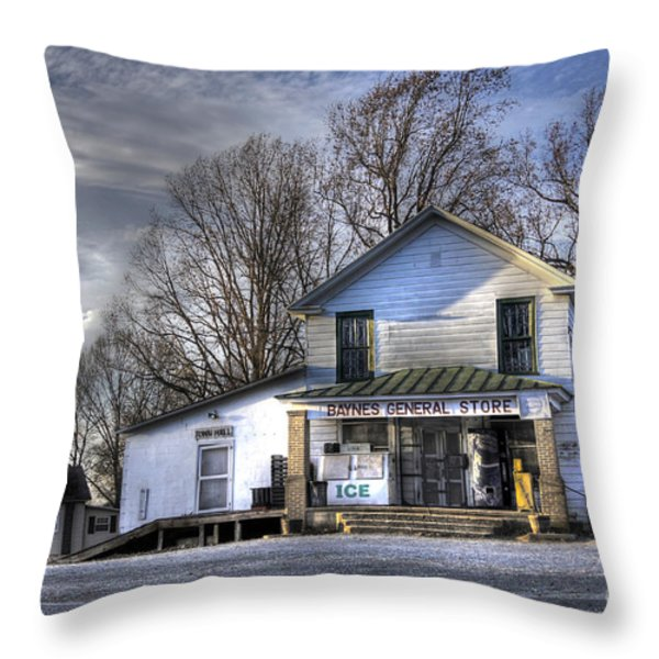 Before Walmart Throw Pillow by Benanne Stiens