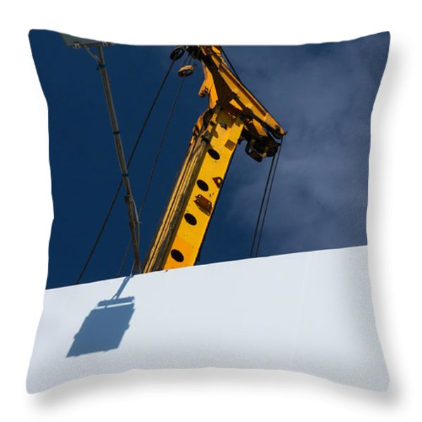 Begin From The Very Beginning Throw Pillow by Alexander Senin