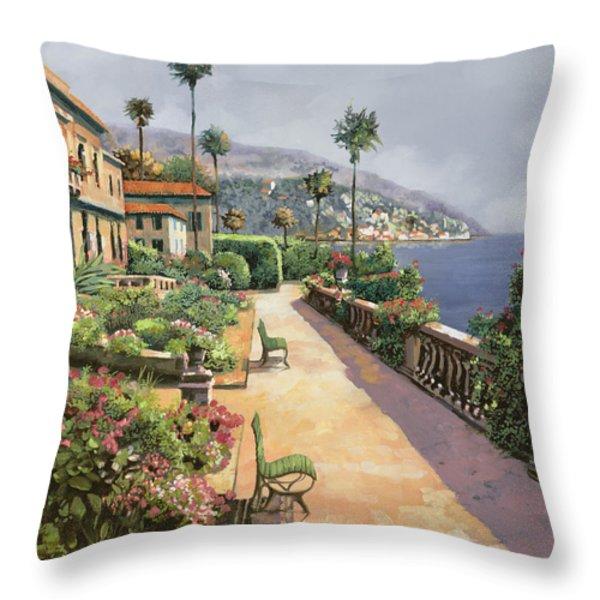 Bella Amalfi Throw Pillow by Guido Borelli