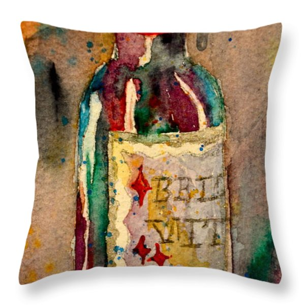 Bella Vita Throw Pillow by Beverley Harper Tinsley
