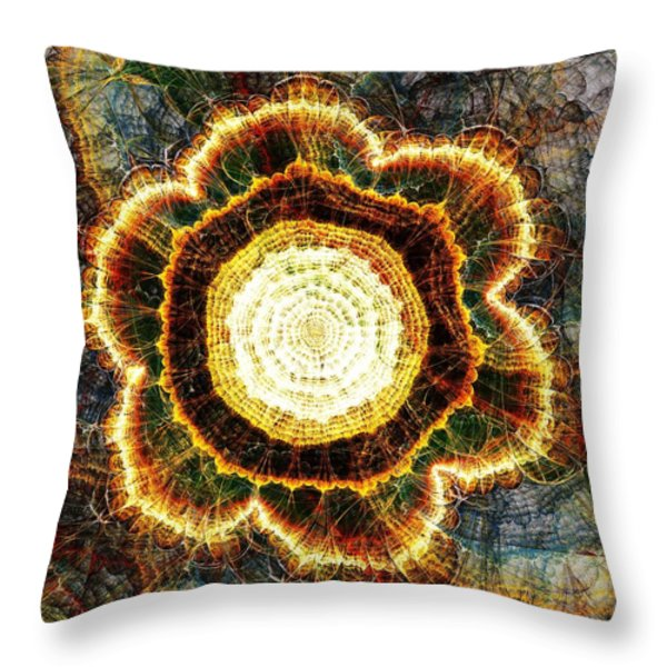 Big Bang Throw Pillow by Anastasiya Malakhova