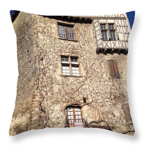 Wanted..New Family Throw Pillow by FRANCE  ART