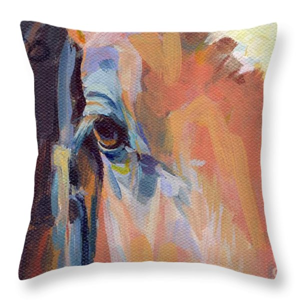 Billy Throw Pillow by Kimberly Santini